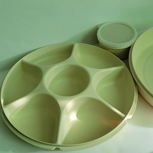 Vintage Tupperware Divided Vegetable Relish Tray
